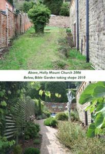 Churchyard landscape design