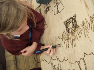 involving school community in design and build and art