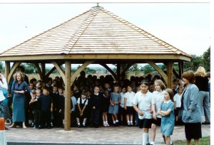 school shelters and gazebos