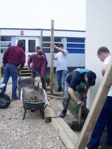 involving school community in school grounds design and build