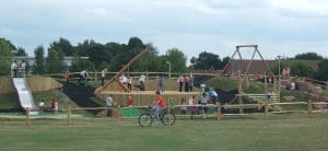 natural play and playground design and build