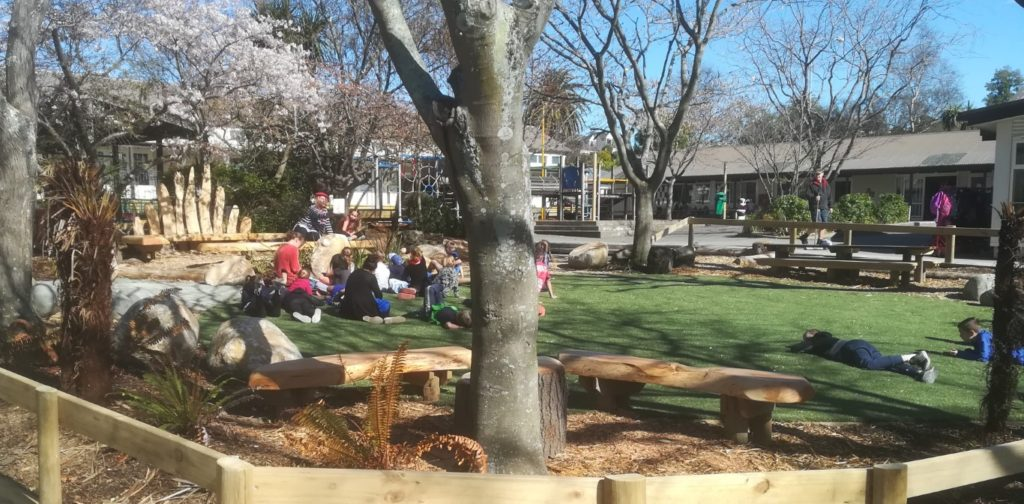 school grounds design for outdoor learning