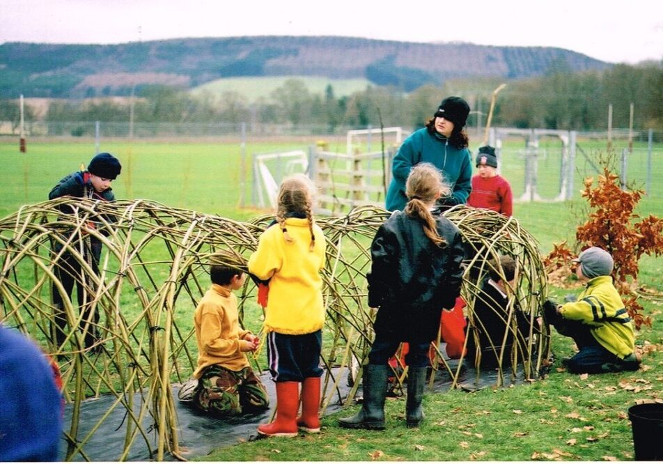 natural playscapes outdoor learning environments